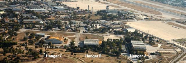 Τα 3 πρώην υπόστεγα της Πολεμικής Αεροπορίας | The 3 former Hangars of Air Force