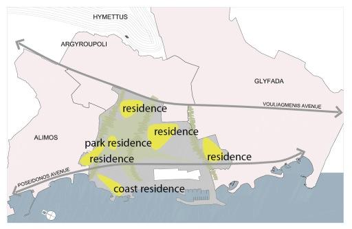 Οι περιοχές κατοικίας έχουν σχεδιαστεί ώστε να ευνοούνται από την γειτνίαση με το πάρκο και άλλους πράσινους χώρους.The residential clusters are planned adjacent to the park and other open space areas, so as to benefit from the green sites.